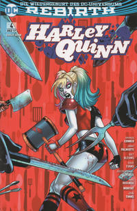 Cover Thumbnail for Harley Quinn (Panini Deutschland, 2017 series) #4 - Niedere Regionen