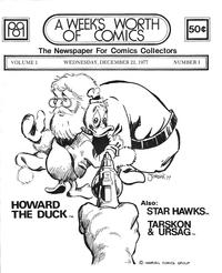Cover Thumbnail for A Week's Worth of Comics (Tyson Blue, 1977 series) #1