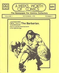 Cover Thumbnail for A Week's Worth of Comics (Tyson Blue, 1977 series) #3