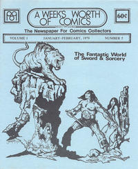 Cover Thumbnail for A Week's Worth of Comics (Tyson Blue, 1977 series) #5