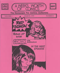 Cover Thumbnail for A Week's Worth of Comics (Tyson Blue, 1977 series) #6