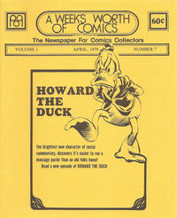 Cover Thumbnail for A Week's Worth of Comics (Tyson Blue, 1977 series) #7