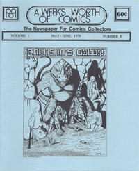 Cover Thumbnail for A Week's Worth of Comics (Tyson Blue, 1977 series) #8