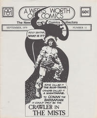 Cover Thumbnail for A Week's Worth of Comics (Tyson Blue, 1977 series) #11