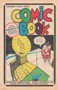 Cover Thumbnail for Gwinnett Daily News Comic Book (Gwinnett Daily News, 1979 series) #v1#15