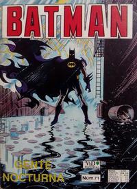 Cover Thumbnail for Batman (Grupo Editorial Vid, 1987 series) #71