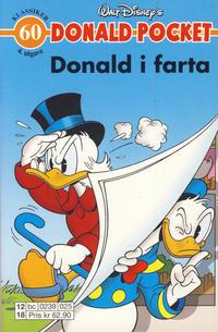 Cover Thumbnail for Donald Pocket (Hjemmet / Egmont, 1968 series) #60 - Donald i farta! [4. utgave bc 0239 025]
