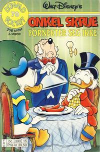 Cover Thumbnail for Donald Pocket (Hjemmet / Egmont, 1968 series) #70 - Onkel Skrue fornekter seg ikke! [3. utgave bc 390 15]