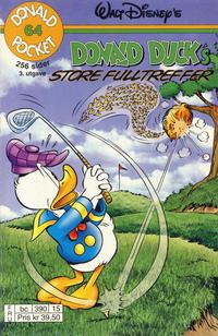Cover Thumbnail for Donald Pocket (Hjemmet / Egmont, 1968 series) #64 - Donald Duck's store fulltreffer [3. utgave bc 390 15]