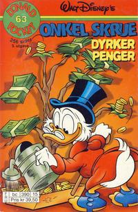 Cover Thumbnail for Donald Pocket (Hjemmet / Egmont, 1968 series) #63 - Onkel Skrue dyrker penger [3. utgave bc 390 15]