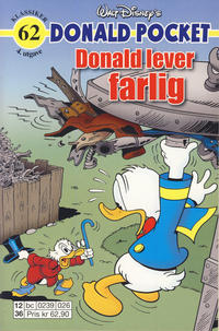 Cover Thumbnail for Donald Pocket (Hjemmet / Egmont, 1968 series) #62 - Donald lever farlig [4. utgave bc 0239 026]