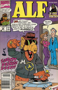 Cover for ALF (Marvel, 1988 series) #35 [Direct Edition]