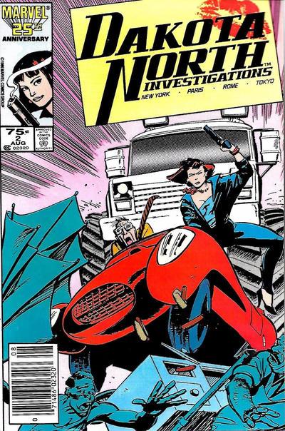 Cover for Dakota North (Marvel, 1986 series) #2 [Canadian]