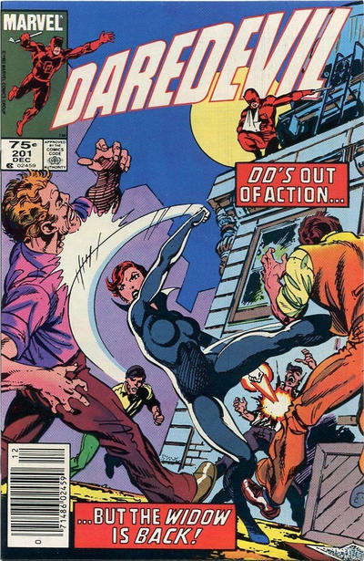Cover for Daredevil (Marvel, 1964 series) #201 [Newsstand]