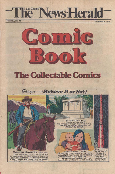 Cover for The News Herald Comic Book the Collectable Comics (Lake County News Herald, 1978 series) #v2#44