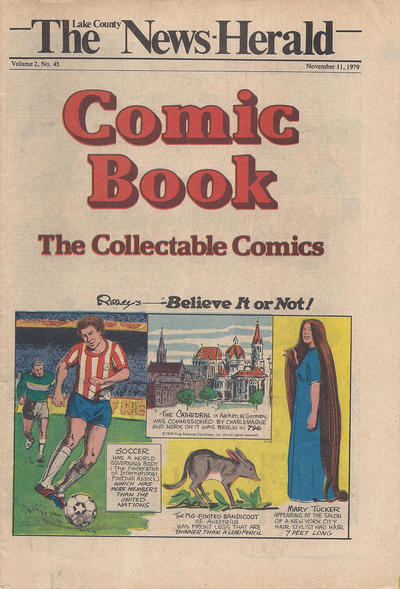 Cover for The News Herald Comic Book the Collectable Comics (Lake County News Herald, 1978 series) #v2#45