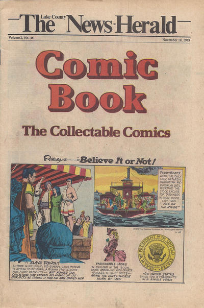 Cover for The News Herald Comic Book the Collectable Comics (Lake County News Herald, 1978 series) #v2#46