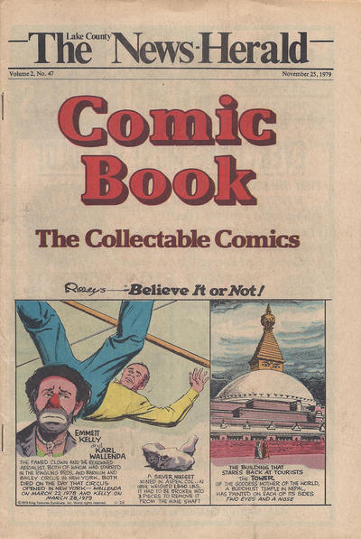 Cover for The News Herald Comic Book the Collectable Comics (Lake County News Herald, 1978 series) #v2#47