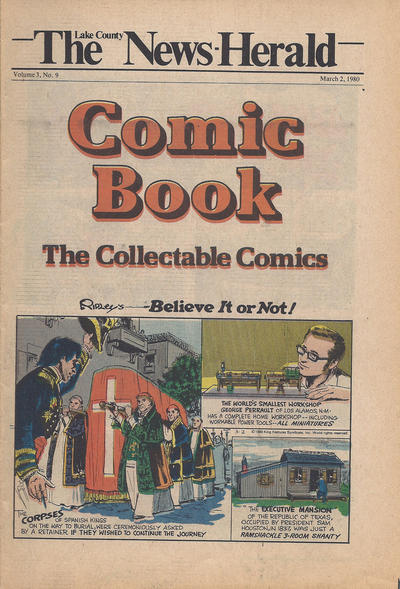 Cover for The News Herald Comic Book the Collectable Comics (Lake County News Herald, 1978 series) #v3#9