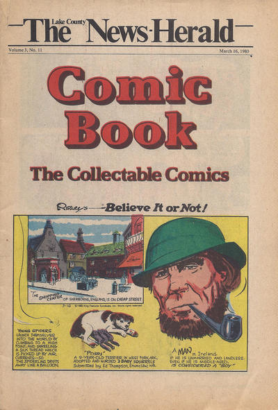 Cover for The News Herald Comic Book the Collectable Comics (Lake County News Herald, 1978 series) #v3#11
