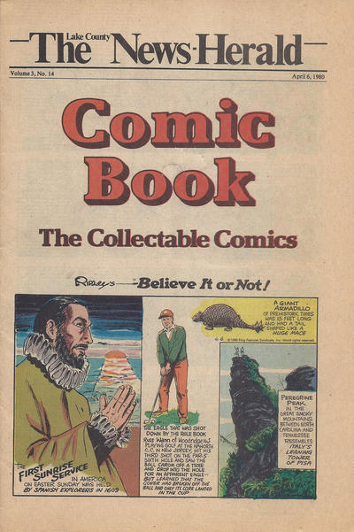 Cover for The News Herald Comic Book the Collectable Comics (Lake County News Herald, 1978 series) #v3#14