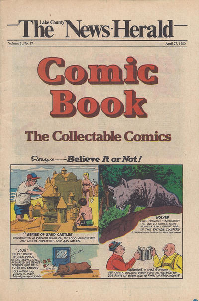 Cover for The News Herald Comic Book the Collectable Comics (Lake County News Herald, 1978 series) #v3#17