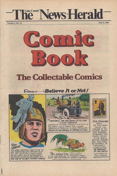 Cover for The News Herald Comic Book the Collectable Comics (Lake County News Herald, 1978 series) #v3#18