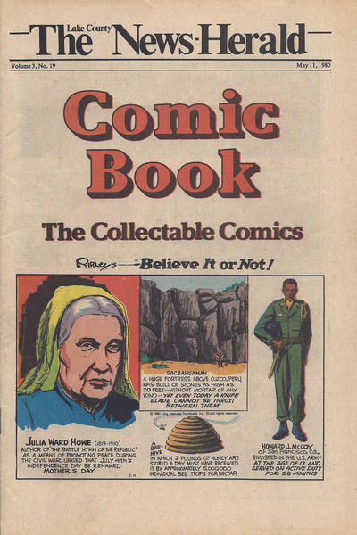 Cover for The News Herald Comic Book the Collectable Comics (Lake County News Herald, 1978 series) #v3#19