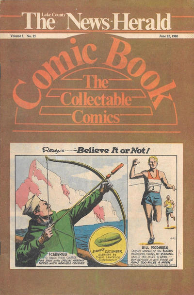 Cover for The News Herald Comic Book the Collectable Comics (Lake County News Herald, 1978 series) #v3#25