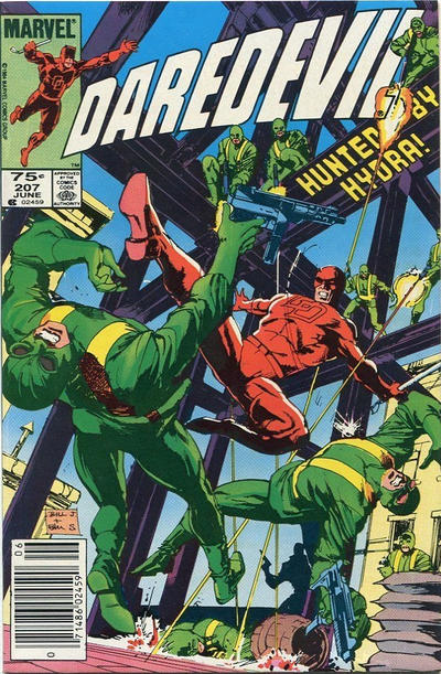 Cover for Daredevil (Marvel, 1964 series) #207 [Canadian]
