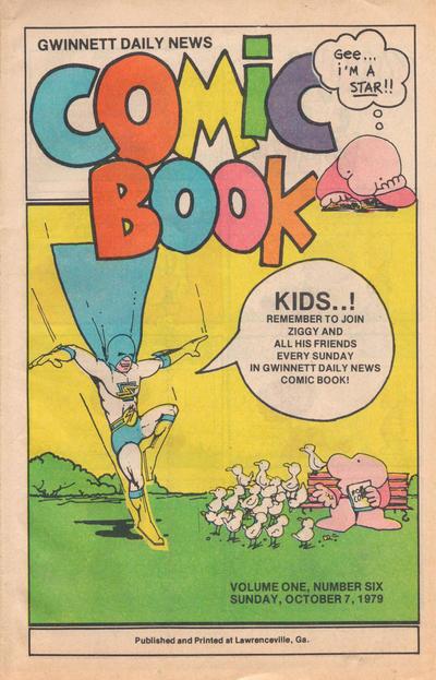 Cover for Gwinnett Daily News Comic Book (Gwinnett Daily News, 1979 series) #v1#6
