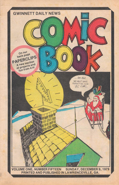 Cover for Gwinnett Daily News Comic Book (Gwinnett Daily News, 1979 series) #v1#15