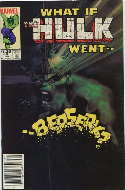 Cover for What If? (Marvel, 1977 series) #45 [Newsstand]