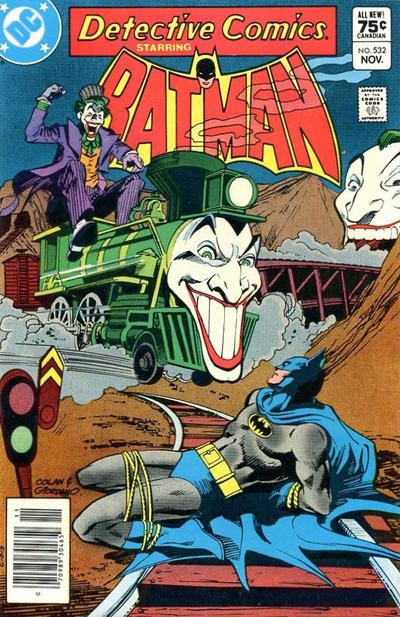Cover for Detective Comics (DC, 1937 series) #532 [Canadian]