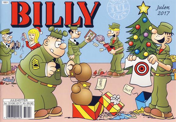 Cover for Billy julehefte (Hjemmet / Egmont, 1970 series) #2017 [Bokhandelutgave]