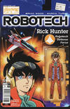 Cover for Robotech (Titan, 2017 series) #1 [Cover C - Blair Shedd 'Action Figure']