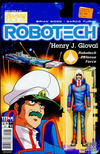 Cover for Robotech (Titan, 2017 series) #3 [Cover C - Blair Shedd 'Action Figure']