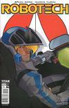 Cover for Robotech (Titan, 2017 series) #4 [Cover B - Karl Kerschl]