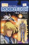 Cover for Robotech (Titan, 2017 series) #4 [Cover C - Blair Shedd 'Action Figure']