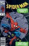 Cover for Spider-Man (Marvel, 1990 series) #27 [Newsstand]