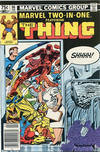 Cover Thumbnail for Marvel Two-in-One (1974 series) #96 [Canadian]