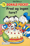 Cover Thumbnail for Donald Pocket (1968 series) #71 - Fred og ingen fare? [4. utgave bc 0239 027]