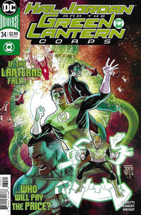 Cover Thumbnail for Hal Jordan and the Green Lantern Corps (DC, 2016 series) #34 [Francis Manapul Cover]