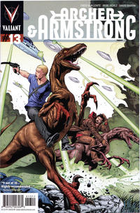 Cover Thumbnail for Archer and Armstrong (Valiant Entertainment, 2012 series) #13 [Cover A - Will Conrad]