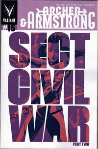 Cover Thumbnail for Archer and Armstrong (Valiant Entertainment, 2012 series) #15 [Cover B - Michael Walsh]