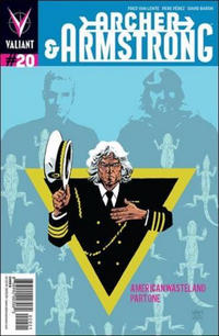 Cover Thumbnail for Archer and Armstrong (Valiant Entertainment, 2012 series) #20 [Cover B - Michael Walsh]