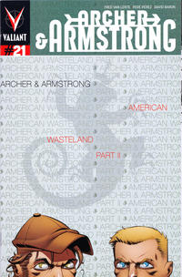 Cover Thumbnail for Archer and Armstrong (Valiant Entertainment, 2012 series) #21 [Cover A - Shawn Crystal]
