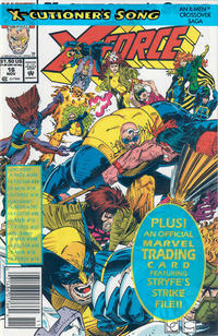 Cover Thumbnail for X-Force (Marvel, 1991 series) #16 [Newsstand]