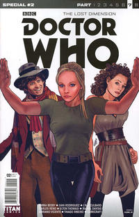 Cover Thumbnail for Doctor Who: Special (Titan, 2017 series) #2 [Cover A]