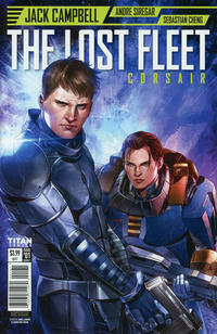 Cover Thumbnail for The Lost Fleet: Corsair (Titan, 2017 series) #1 [Cover C - Marc Laming]